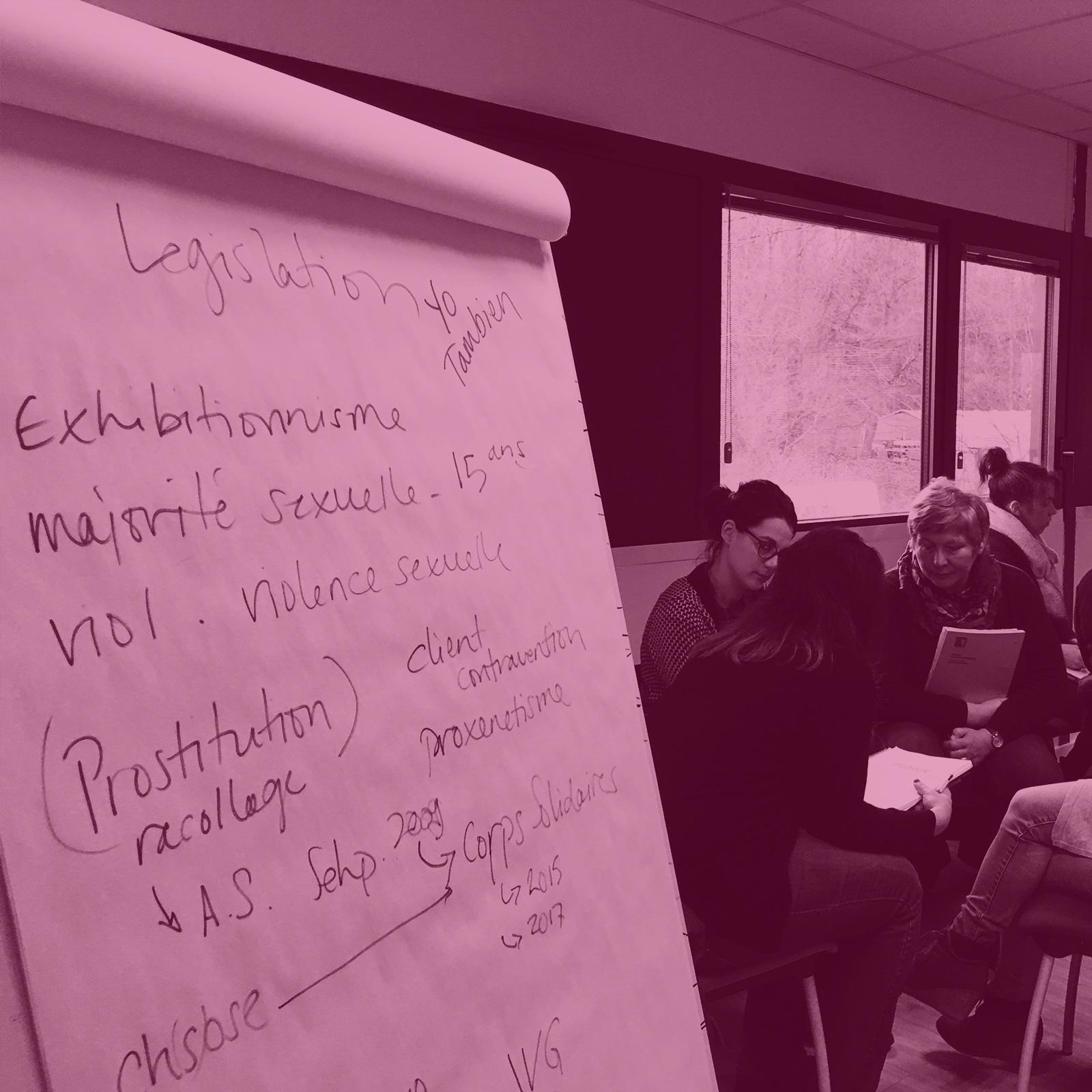 Groupe de Parole Éducation Sexuelle Handicap - Sheila Warembourg