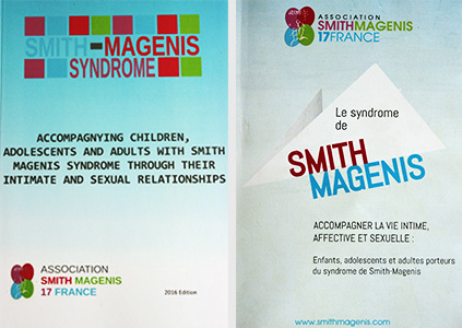 Le syndrome Smith Magenis - accompagner la vie sexuelle intime affective - Warembourg
